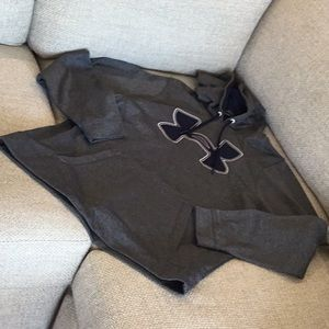 Under Armour hoodie, size large